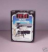Vintage Star Wars ROTJ Tri  Pod Cannon toy MISB MIB