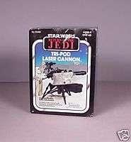 Vintage Star Wars ROTJ Tri  Pod Cannon toy MISB MIB