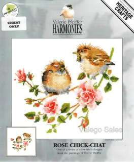 Cross Stitch Chart Pattern ROSE CHICK CHAT 778 642023017780