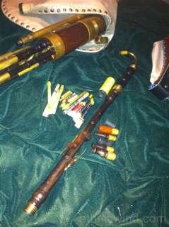 Uilleann pipes Half Set Blackwood/Brass Rosewood synthetic bag