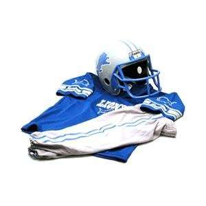 Detroit Lions Youth NFL Team Helmet and Uniform Set