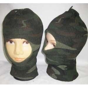Winter Face Ski Mask Balaclava Hunting Camo Hat