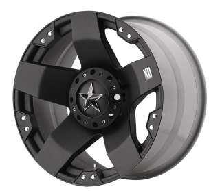 20 inch Black Wheels/Rims XD775 Rockstar FORD f250 f350 8 lug 1999