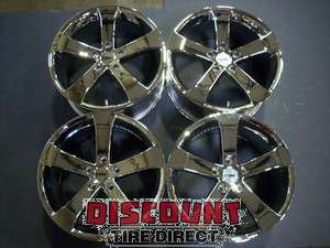 Used 18x9 5x120 5 120 TSW Vortex Chrome Wheels/Rims