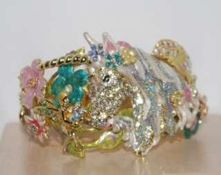 Kirks Folly Cloudwalker Unicorn Pegasus Cuff Bracelet Average Size