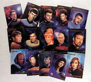 Star Trek Master Series 1 Trading Card Sealed Box