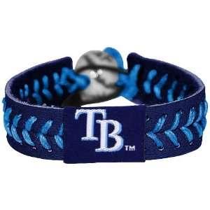 Tampa Bay Rays Navy Blue Baseball Bracelet Sports
