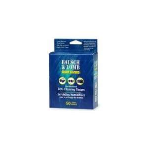 Bausch & Lomb Sight Savers Pre Moistened Lens Cleaning Tissues, 50