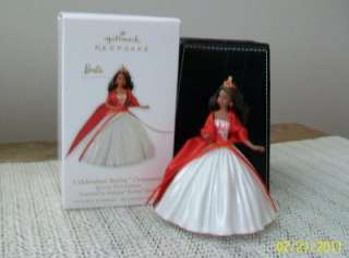 Hallmark Celebration Barbie African American Black Lot