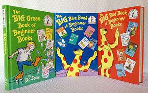 Book of Beginner Books Series Set Dr. Seuss, P. D. Eastman Blue, Red
