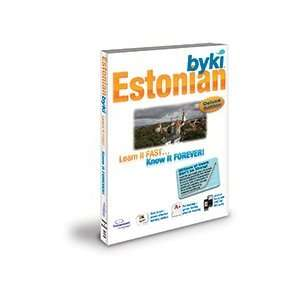 Byki Estonian Language Tutor Software & Audio Learning CD