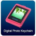 de iCoto llavero Pnk del marco de la foto de la imagen digital 1.5