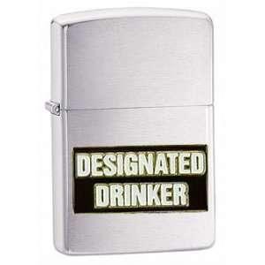 Zippo Custom Lighter   Novelty Funny Humor Saying Beer Alcohol Drink