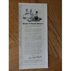 Daniel Boone)Original vintage 1939 Colliers Magazine Print Art