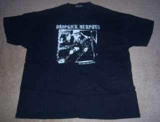 DROPKICK MURPHYS Here Come the Sirens Concert/TOUR Shirt XL