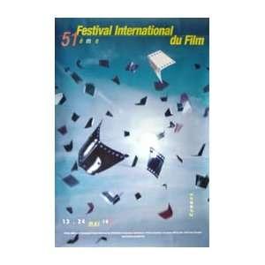 Cannes Film Festival 1998 Original Poster 24 X 32