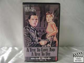 Time To Love And A Time To Die VHS John Gavin