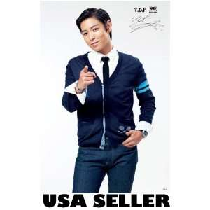 Bigbang Top parted hair POSTER 23.5 x 34 Big Bang frontman