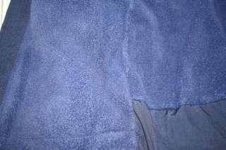 LL Bean Boy Navy Blue COAT Winter JACKET Fleece Hood 4