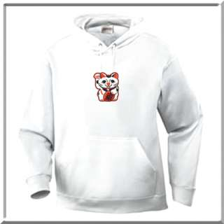 The design is printed on the front of the hoodie and is approximately