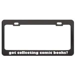 Got Collecting Comic Books? Hobby Hobbies Black Metal License Plate