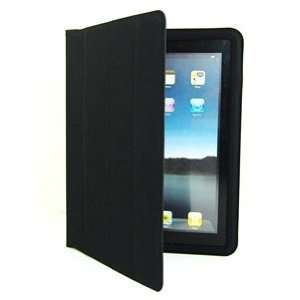 Cosmos BLACK ultra slim PU Faux LEATHER smart Case / Cover