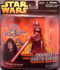 Star Wars ROTS Deluxe Emperor Palpatine Action Figure