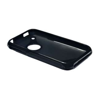 Best Black TPU Rubber Soft Gel Hard Case Cover S Shape for iPhone 3 3S