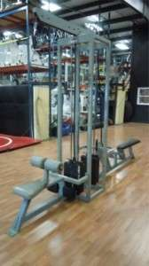 Body Master Multi Stack Function Trainer Lat Row Combo ifbb jan tana