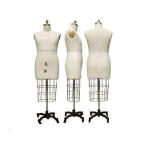 Half Body Professional Dress Forms/Mannequins Arts, Crafts & Sewing