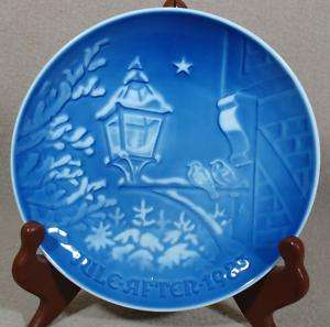 BING & GRONDAHL CHRISTMAS PLATE 1983 In The Old Town