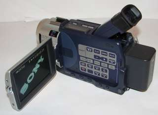 Sony Digital Handycam DCR TRV140 digital8 USB streaming camcorder