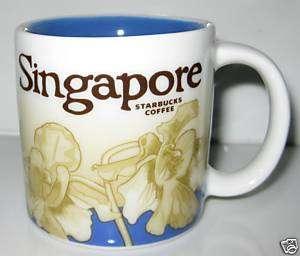 Starbucks Singapore 16oz City Collector Mug   Orchid
