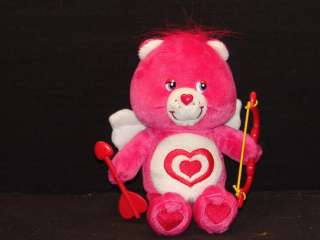 VALENTINES DAY TARGET STORE ALL MY HEART CARE BEAR CUPID PLUSH STUFFED