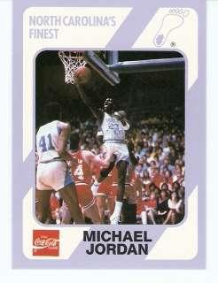 1989 Michael Jordan North Carolina Tar Heels card #14