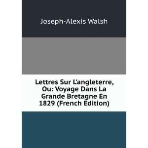 Lettres Sur Langleterre, Ou: Voyage Dans La Grande Bretagne En 1829