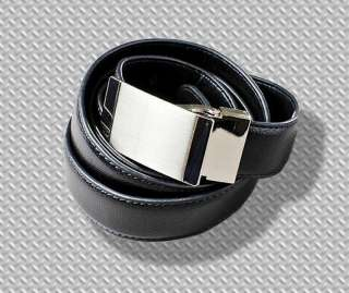 New Giorgio Mens Leather Belt 9 Styles Faux Skins Black Brown