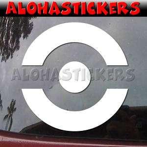 WARS OPEN CIRCLE FLEET Car Star Vinyl Decal Sticker E56