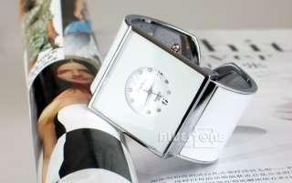 Ladies Girls Fashion Bracelet Bangle Wrist Watch White