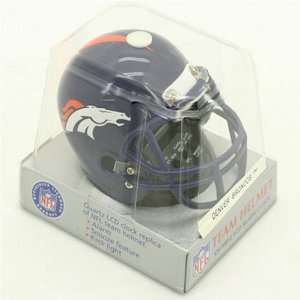 Denver Broncos NFL Football Helmet Alarm Clock Electronics