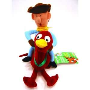 : Rudolph Island of the Misfit Toys MISFIT COWBOY Plush: Toys & Games