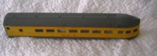 AMERICAN FLYER WESTERN PACIFIC TRAIN BODY SHELLS ENGINE AND 3 CARS S