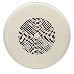 Valcom 8 Inch Talkback Ceiling Speaker Flush Mounted Built