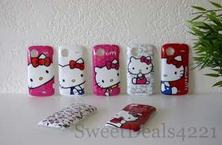 Tmobile HTC Sensation 4G Hello Kitty Pink Cute Girls Snap On Phone