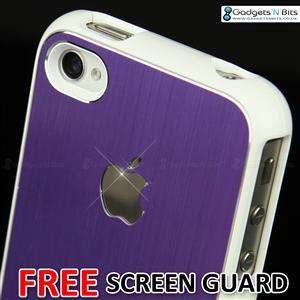 New Stylish Gold Aluminium Bumper Series Case Cover Fits For Apple
