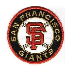 San Francisco Giants SF Round MLB Baseball Team Logo