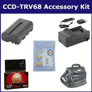 Sony CCD TRV68 Camcorder Accessory Kit includes HI8TAPE Tape/ Media