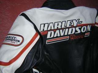 harley davidson RACEWAY RACING LEATHER JACKET 2005 screamin eagle
