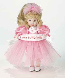 Marie Osmond BREAST CANCER   SURVIVOR KEEPSAKE doll