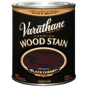 Varathane Oil Base Stain, Half Pint, Black Cherry